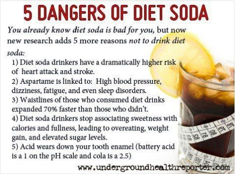 Soda is bad for you